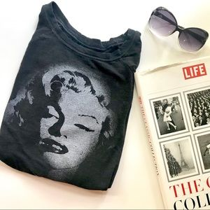 Marilyn Monroe long sleeve t- shirt